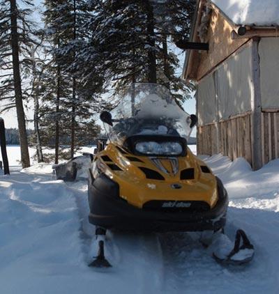 winter quad atv
